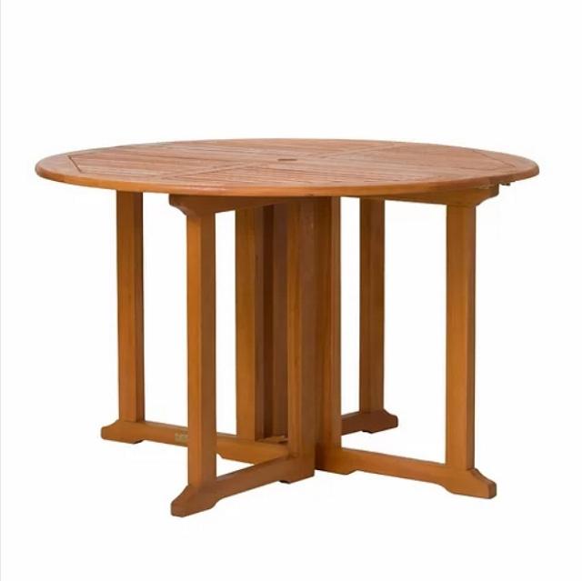 Fine Eucalyptus 48 Inch Heavy Duty Folding Dining Table Cjindustries Chair Design For Home Cjindustriesco