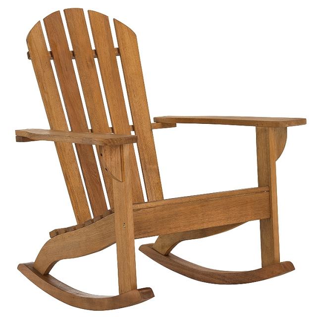 Amazing Rustic Eucalyptus Adirondack Porch Rocking Chair Cjindustries Chair Design For Home Cjindustriesco