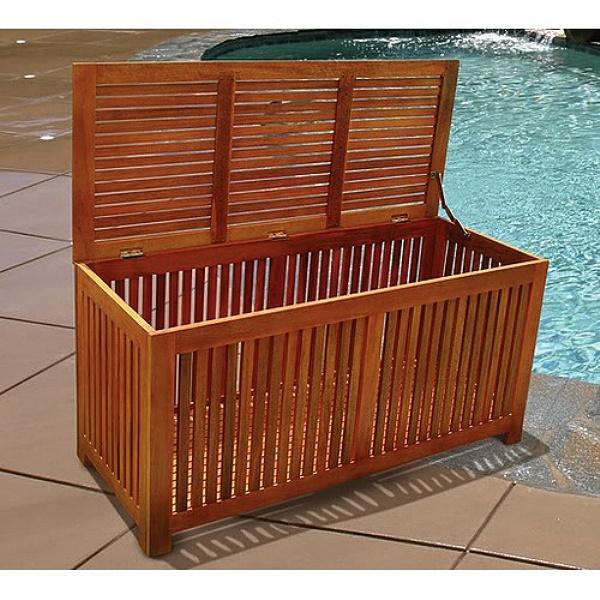 Brilliant Teak Type Deck Storage Box Chest Inzonedesignstudio Interior Chair Design Inzonedesignstudiocom