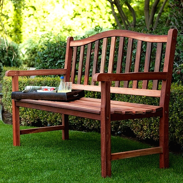 Miraculous Teak Type 4 Foot Patio Garden Bench Machost Co Dining Chair Design Ideas Machostcouk